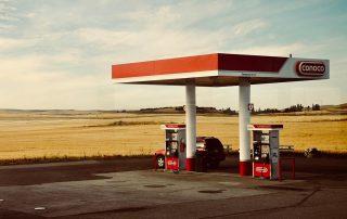 Precios combustibles por cada 100 km